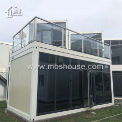 Quick Assembly Office Prefab Flat Pack Container House